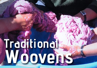 Natural handmade Wooves and Dyes